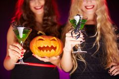 Halloween Cocktails Royalty Free Stock Photo