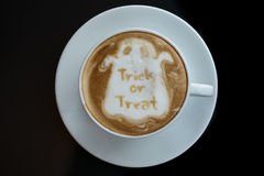 Halloween coffee Royalty Free Stock Images