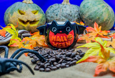 Halloween coffee Royalty Free Stock Image