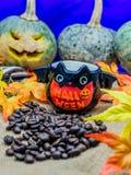 Halloween coffee Stock Photo