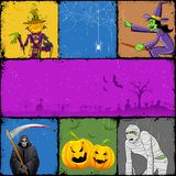 Halloween Collage Royalty Free Stock Images