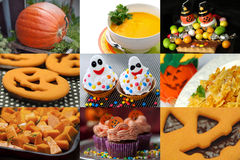 Halloween collage Stock Photo