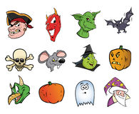 Halloween collection Stock Photo