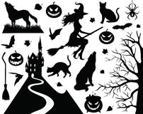 Halloween collection. Royalty Free Stock Image