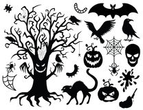 Halloween collection. Stock Photography