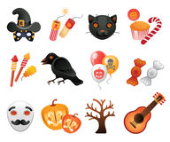 Halloween collection of icons. Stock Photography