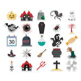 Halloween Color Isolated Vector icon which can be easily edit or modified vector illustration