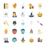 Halloween Colored Vector Icons 2 Royalty Free Stock Image