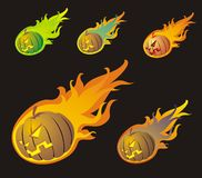 Halloween Comets Royalty Free Stock Images