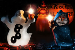 Halloween Composition Stock Photography
