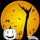 Halloween composition Royalty Free Stock Photography