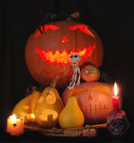 Halloween composition Royalty Free Stock Photos