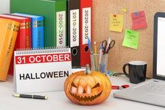 Halloween concept, 3D rendering Stock Photography