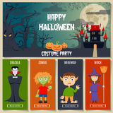 Halloween Concept Set Royalty Free Stock Photography