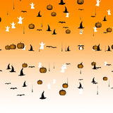 Halloween confettis. Stock Images