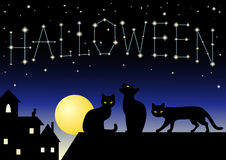 Halloween Constellation Stock Photo