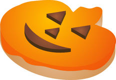 Halloween cookie royalty free stock photo