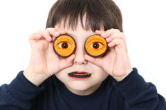 Halloween Cookie Boy Stock Images