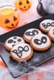 Halloween cookie Stock Images
