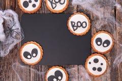 Halloween cookie Royalty Free Stock Photos
