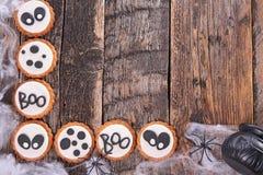 Halloween cookie Stock Image
