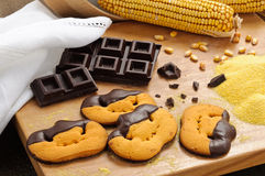 Halloween cookies Royalty Free Stock Images