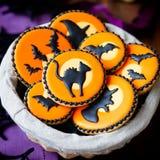 Halloween cookies Stock Photo