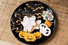 Halloween cookies Royalty Free Stock Photos