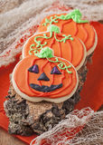 Halloween cookies Stock Photos