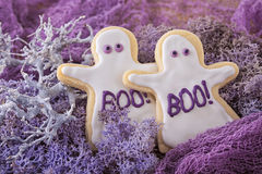 Halloween cookies Stock Images