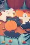 Halloween Cookies Stock Images