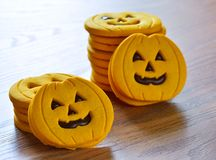 Halloween cookies. Royalty Free Stock Photo