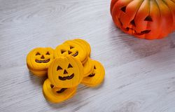 Halloween cookies. Royalty Free Stock Image