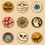Halloween Cookies vector illustration