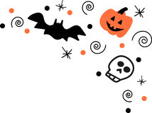 Halloween Corner Royalty Free Stock Image