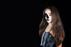 halloween & x28; costume& x29 масленицы; стоковые изображения