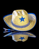 Halloween costume cowboy hat Royalty Free Stock Images