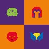 Halloween Costume Masks Stock Images