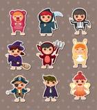 Halloween costume party Stock Image