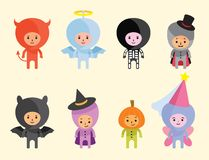 Halloween costumes Royalty Free Stock Photos