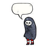 Halloween cosume cartoon Royalty Free Stock Image