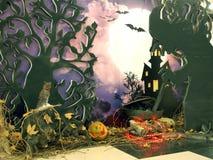 Halloween Cottura della pozione Immagine Stock