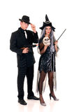 Halloween couple fun Royalty Free Stock Photos
