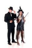 Halloween couple fun Royalty Free Stock Photos
