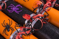Halloween Crackers Stock Photography