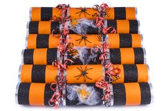 Halloween Crackers Stock Photo