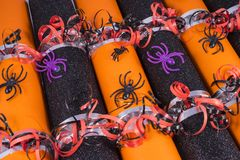 Halloween Crackers Stock Images