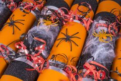 Halloween Crackers Stock Photos
