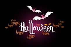 Halloween creative banner Stock Images