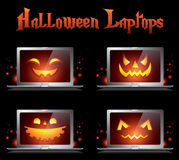 Halloween creative  monster icons Stock Image